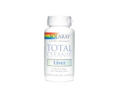 Solaray Total Cleanse Liver 60cáps