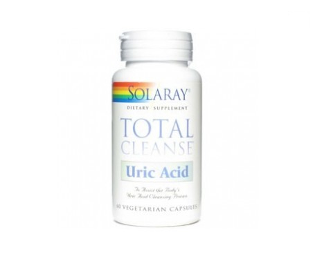 Solaray Total Cleanse Uric Acid 60cáps