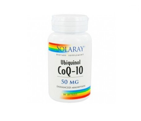 Solaray Ubiquinol Co-Q10 50mg  30 perlas