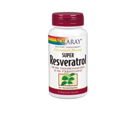 Solaray Super Resveratrol 250mg 30cáps