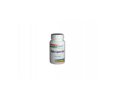 Solaray Alpha Lipoic Acid 250mg 60cáps