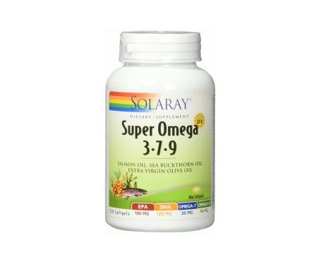 Solaray Super Omega 3-7-9 120 perlas