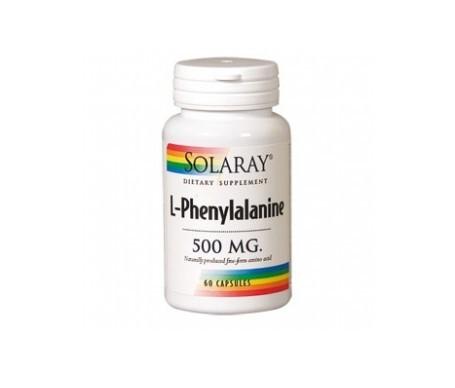 Solaray L-phenylalanine 500mg 60cáps