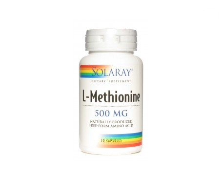 Solaray L-methionine 500mg 30cáps