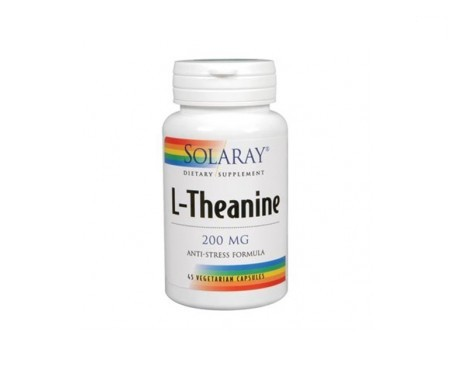 Solaray L-theanine 200mg 45cáps
