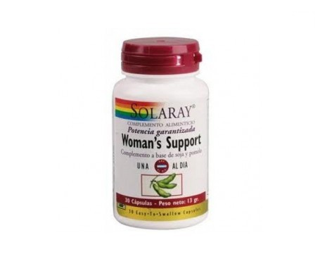Solaray Woman's Support 30cáps