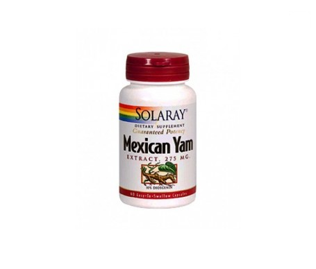 Solaray Mexican Yam 275mg 60cáps