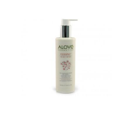 Alove gel detergente per il viso senza sapone pelle secca 250ml