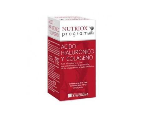 Ynsadiet collagene + acido ialuronico Nutriox 30 capsule