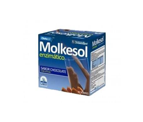 Ynsadiet Molkesol Enzimático sabor chocolate 30 sobres