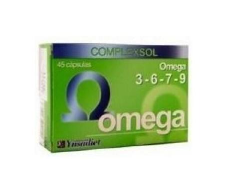Ynsadiet Omega 3-6-7-9  45 perlas
