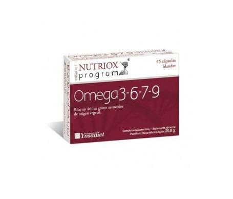 Ynsadiet Nutriox Omega 3-6-7-9 45cáps