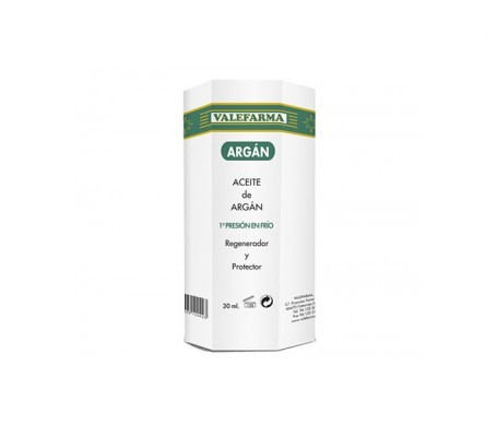 Valefarma aceite puro de argán 30ml