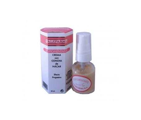 Valefarma depigmentierende Creme aus Perlmutt 30 ml