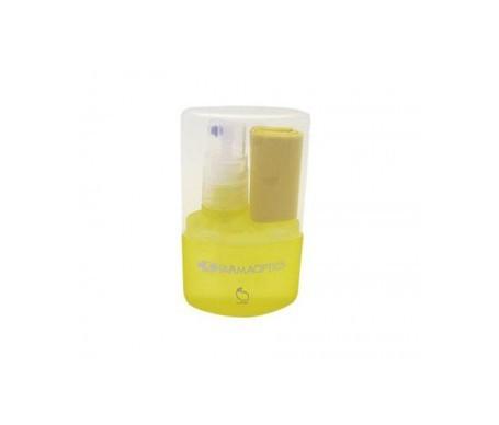 Farmaoptics limpiagafas aroma limón + paño 1ud
