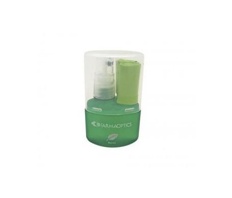 Farmaoptics limpiagafas aroma menta + paño 1ud