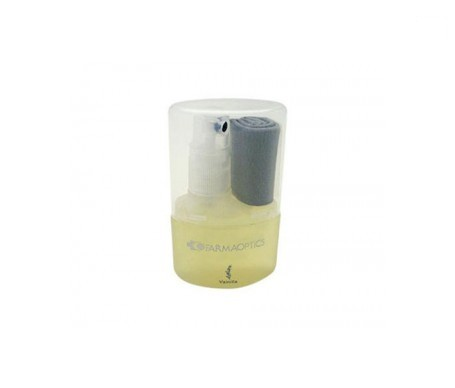 Farmaoptics limpiagafas aroma vainilla + paño 1ud