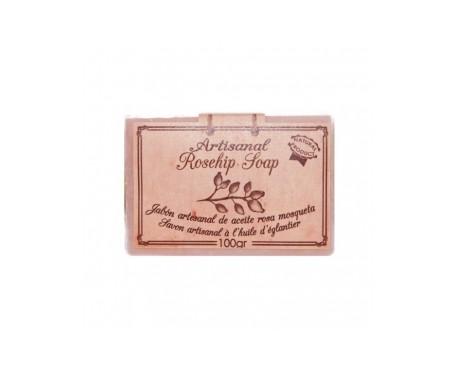 Arganour jabón artesanal aceite de rosa mosqueta 100g