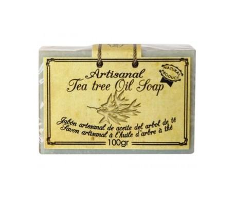 Arganour jabón artesanal aceite de árbol del té 100g