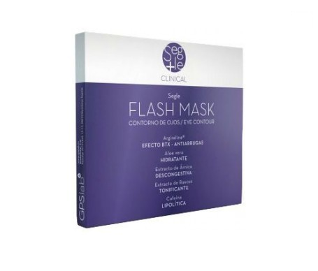 Segle Clinical Flash mascarilla 2 sachets dobles 4udsx4 ml