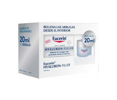 Eucerin® Pack Hyaluron-Filler crema de día pieles secas 50ml + 20ml