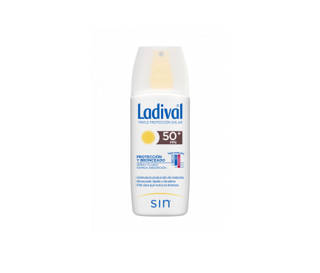 Ladival® protección y bronceado SPF50+ spray  150ml
