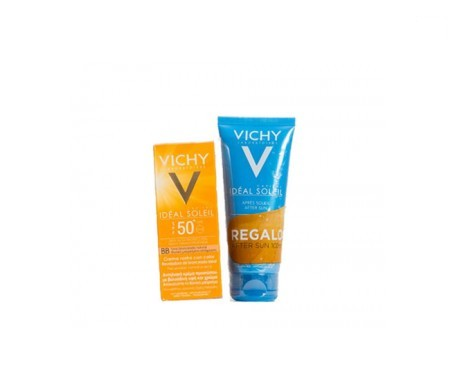 Vichy Idéal Soleil gel-fluido bronze SPF50+ 50ml + REGALO aftersun 100ml