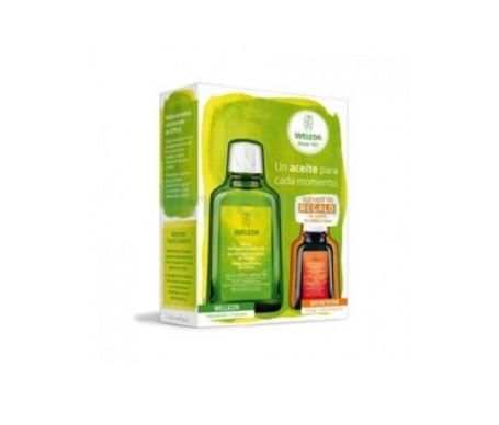 Weleda aceite corporal de citrus 100ml + aceite de árnica 50ml