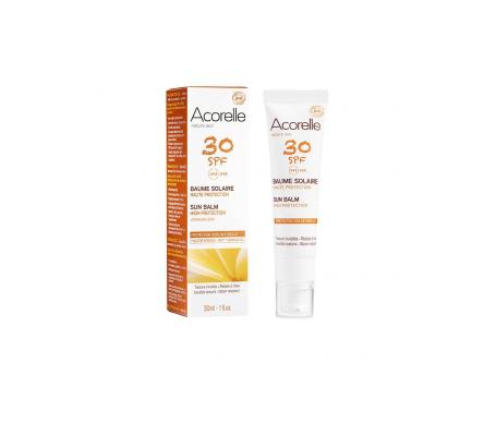 Acorelle gel protección solar facial SPF30+  30ml