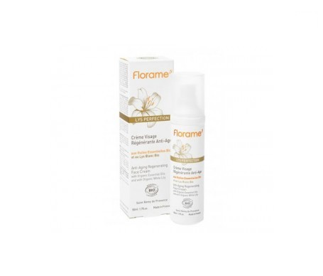 Florame crema facial regeneradora Lys perfection 50ml