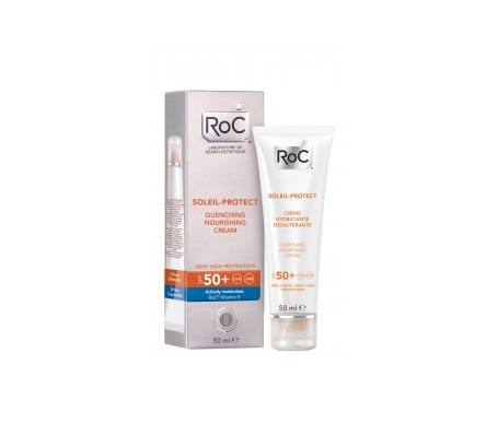 ROC® Soleil Protect crema nutritiva intensa SPF50+ 50ml