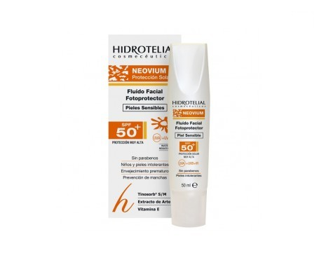 Hidrotelial Neovium fluido facial SPF50+ 50ml