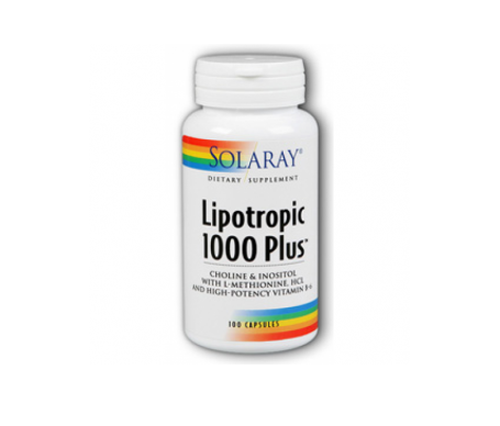Solaray Lipotropic 1000 Plus 100cáps
