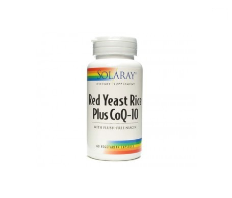 Solaray Red Yeast Rice Plus CoQ-10 60cáps