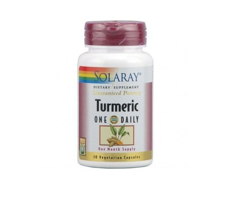 Solaray turmeric 30cáps