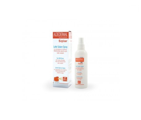 Aloedermal leche solar spray SPF50+ 150ml