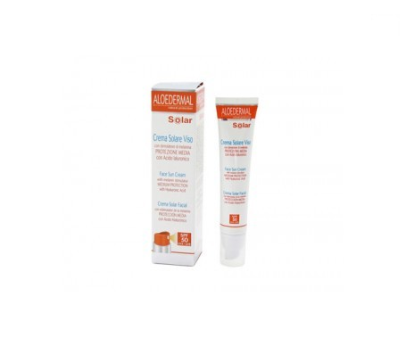 Aloedermal crema solar facial SPF50+ 50ml