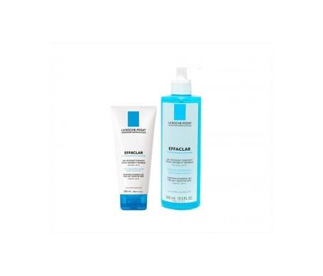 La Roche-Posay Effaclar Purifying Gel 400ml + Effaclar Mousse Gel 200ml