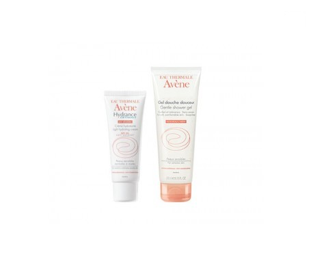 Avène Hydrance Optimale ligera SPF20+ 40ml + gel ducha suavidad 100ml