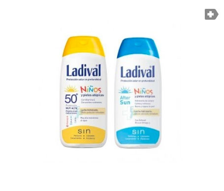 Ladival® Pack Niños SPF50+ leche pediátrica 200ml + Aftersun 200ml