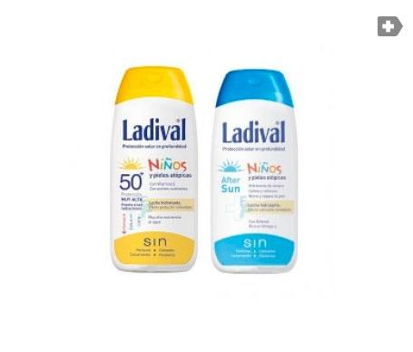 Ladival® Pack Niños SPF50+ leche pediátrica 200ml + Aftersun 200ml