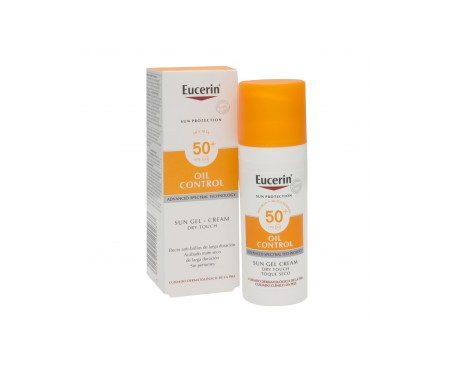 Eucerin® oil control Dry Touch SPF50+ sun gel crema 50ml