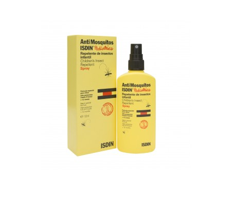 Isdin AntiMosquitos Pediatrics repelente de insectos infantil spray 100ml