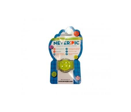 Neverpic pulsera antimosquitos con 4 recambios 1ud