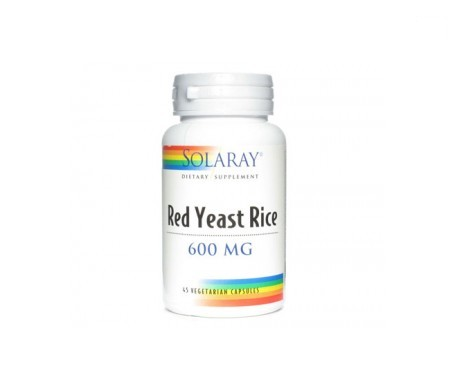Solaray Red yeast rice 45cáps