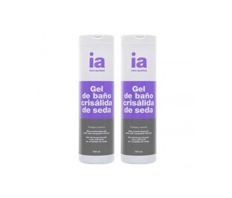 Interaphotek gel de baño crisálida de seda 750ml+750ml