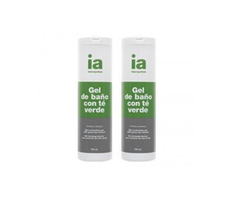 Interaphotek gel de baño con té verde 750ml+750ml