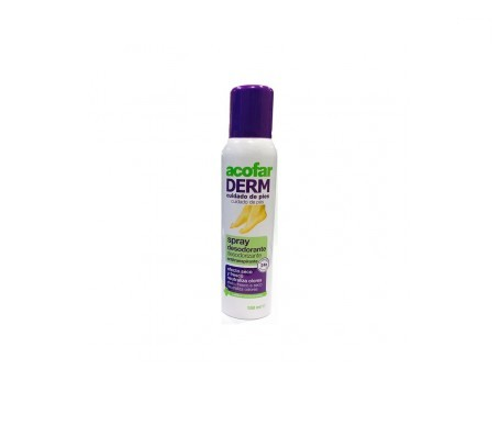 Acofarderm desodorante pies spray 150ml