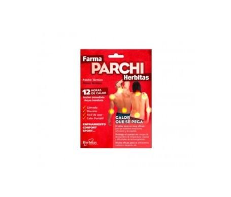 Farma Parchi Herbitas parche térmico 3uds