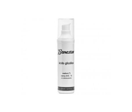 Benestar® gel ácido glicólico AHA 20% 50ml